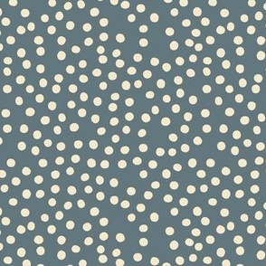 Blue Cream Dot