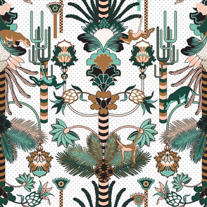 Jungle Fantasy (Limited Palette)