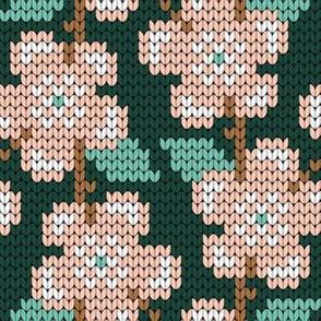 08986136 : knit rose : spoonflower0505