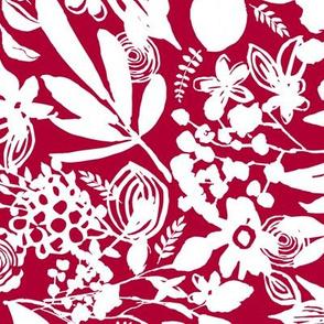 Summer Floral - red