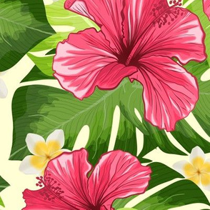 Hawaiian Hibiscus Fragrance Flower