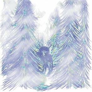Bigfoot Blue Turquoise Shibori - Large Scale