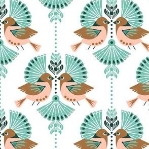 Love Birds Damask