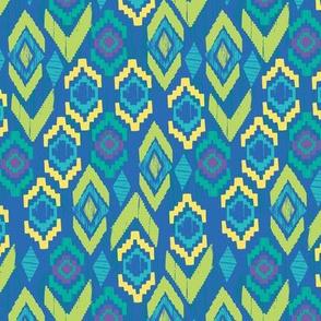 fiestaval in blue