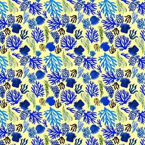Blue Corals mix small