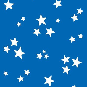 stars med white on royal blue || independence day USA american fourth of july 4th