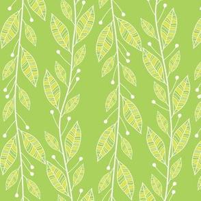 Viney Leaves (Green)