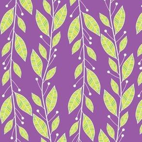 Viney Leaves (Purple)