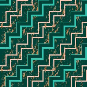 Marbling zigzag