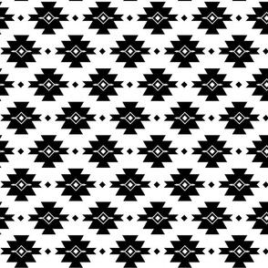 PRAIRIE BLANKET BLACK/WHITE