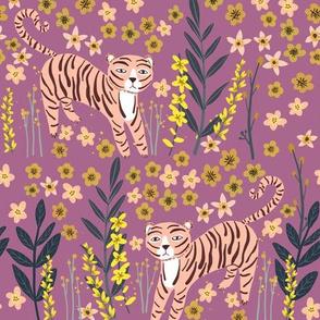 """10"""" Pink Tiger - Violet"""