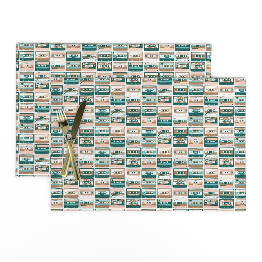 Lamona Cloth Placemats featuring good old days by lisahilda