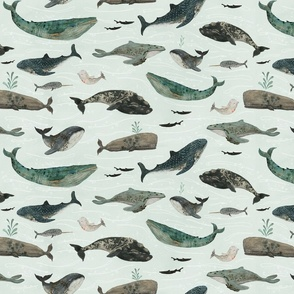 tattooed whales {small}