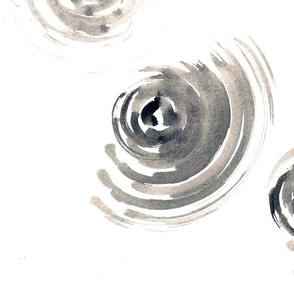 Pattern gray circles