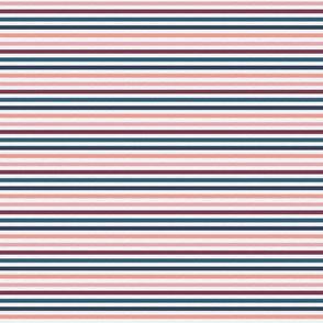Pink Plum Vintage Stripe