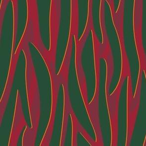 Zebra print fall winter trend 19/20 Green red
