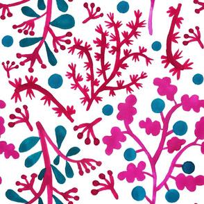 Pink dream leaf