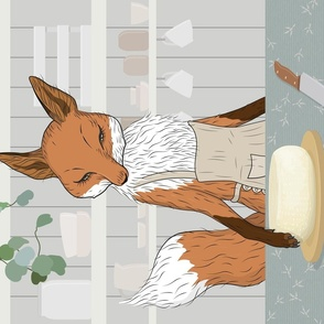 Cheese Time of Day in Fox's Kitchen