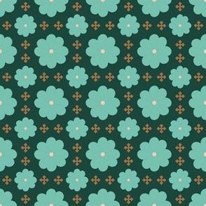 Flowers and Crosses v3
