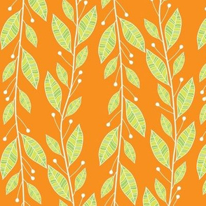 Viney Leaves (Orange)