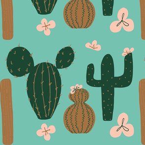 Cactus Flowers Limited Palette