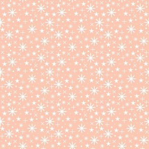 starry sky  | white on rosé