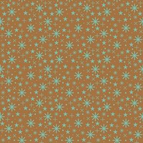starry sky  |  spearmint on bronze