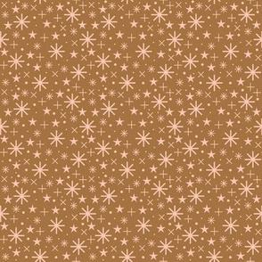 starry sky  |  rosé on bronze