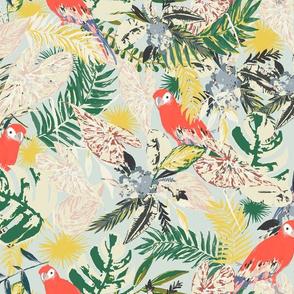 Paradise--Lush--Spoonflower