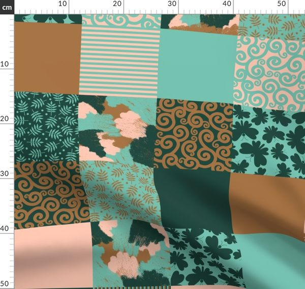Fun Garden Scarecrow Design 100/% Craft Cotton Company Quilting Fabric