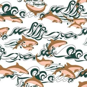 Save The Vaquita! on White