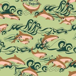 Save The Vaquita! on Green