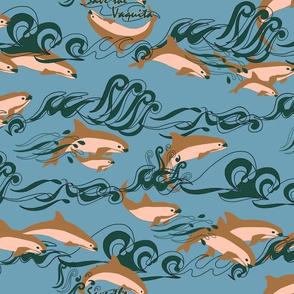 Save The Vaquita! on Blue