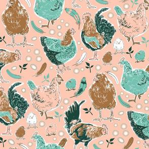 The Chicken Run