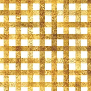 Gold Plaid