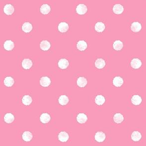 Watercolor Dot - Pink