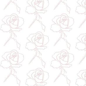 Blushed rose.