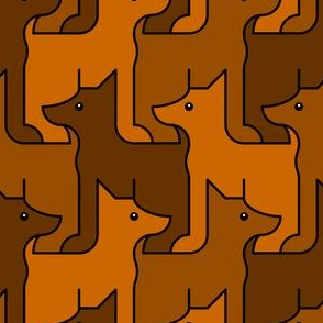 09000554 © doberman dog 1g 3