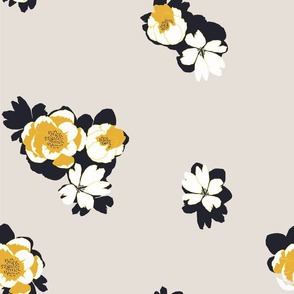 SILHOUETTE FLORAL