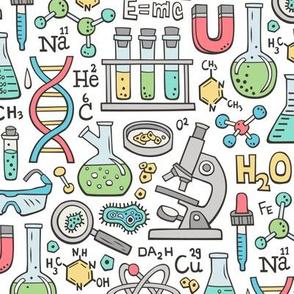 Science Lab School Doodle