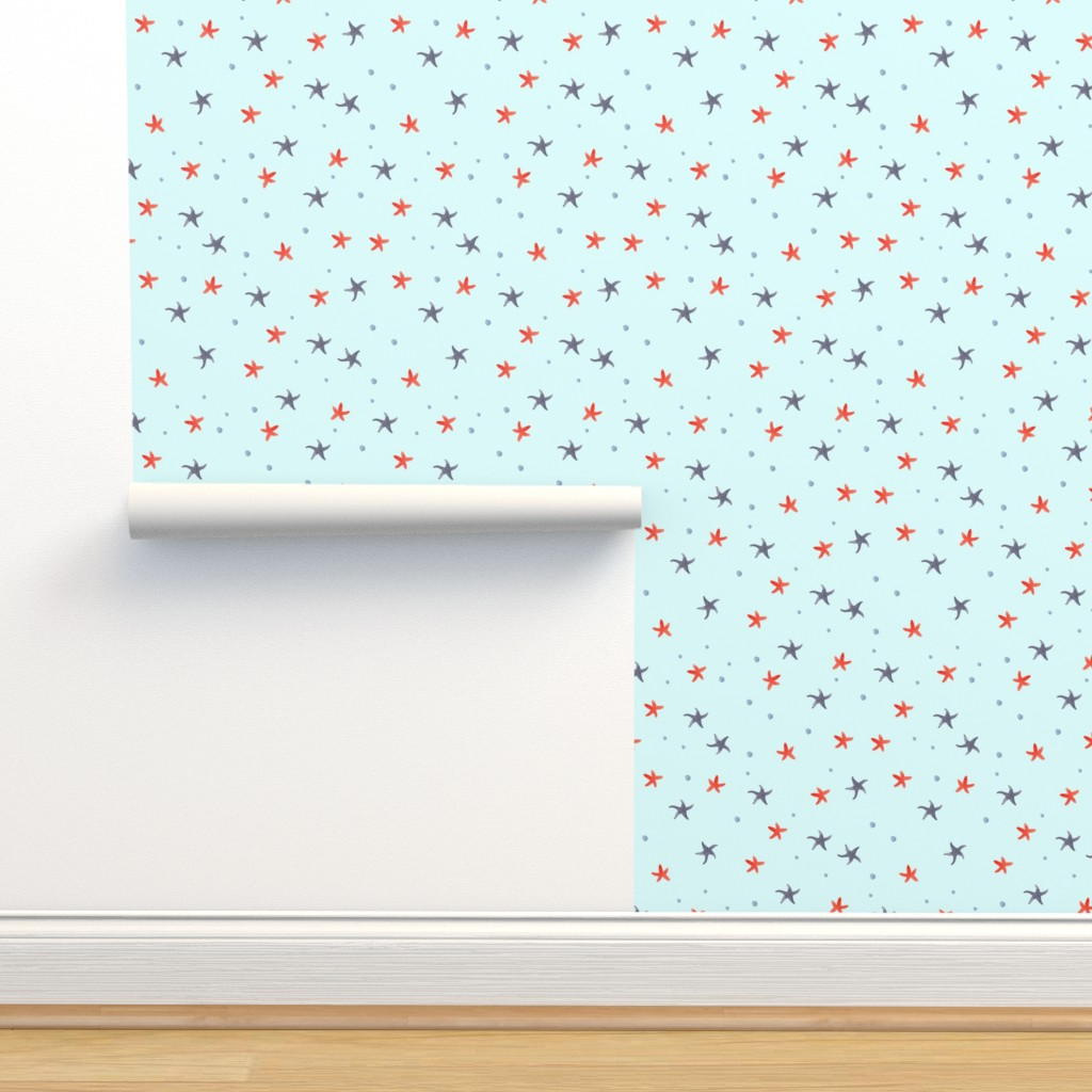 Isobar Durable Wallpaper featuring Starfish by fancy_alice