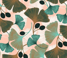 Ginkgo Leaves - Spring Rose & Spearmint