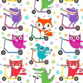 scooter critters primary