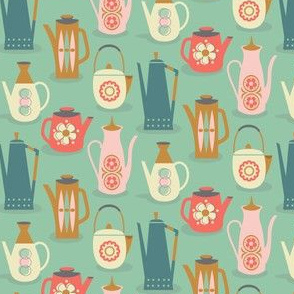 60s teapots / small