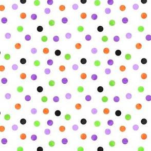 halloween polka dots - LAD19