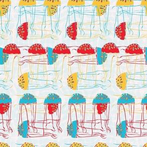 Fifties Style Jellyfish