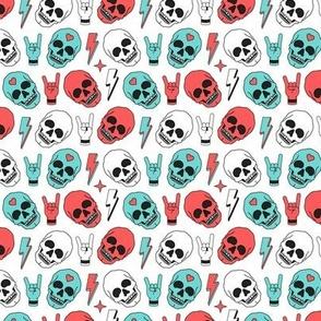 Skull - White