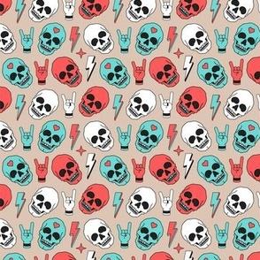 Skull - Beige