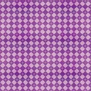 Mini shibori - purple