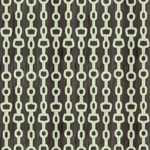 Retro Chains in gray by jezli pacheco - jezpokili.com